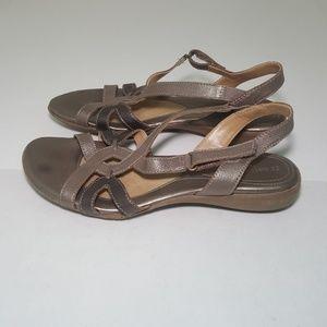 Naturalizer Sling Back cooper sandals Size 8.5m